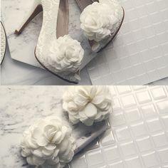 フラワーシューズクリッププ2個1セット(靴クリップ/ウエディング/結婚式/二次会/パーティー)