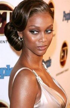 Tyra Banks Nigerian Wedding: 14 Gorgeous Celebrity Inspired Bridal Hairstyles   Nigerian Wedding   Nigerian Wedding