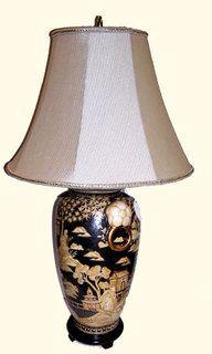 Tong Chi Porcelain Chinese Lamps, Oriental, Porcelain, Table Lamps, Colonial, Decoration, Home Decor, Decor, Porcelain Ceramics
