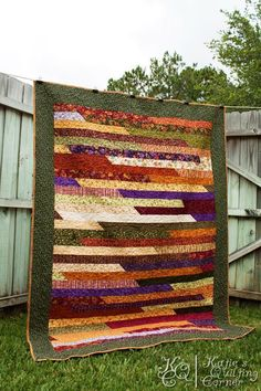 jelly roll race quilt pattern - Google Search
