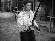 "Chuck Connors as the ""Rifleman"""