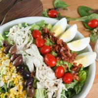 Cobb Salad  A classic warm weather dinner, Add or Subtract to make it uniquely yours