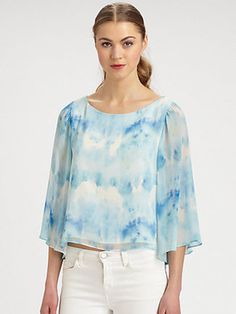 Alice Tie-Dyed Blouse