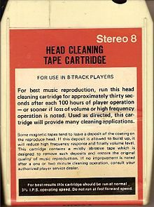 8 Track Tape-Stereo 8, commonly known as the eight-track cartridge, eight-track tape, or simply eight-track, is a magnetic tape sound recording technology. It was popular in the United States from the mid-1960s through the early 1980s,