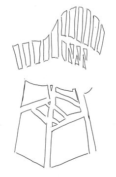 negative space - chair