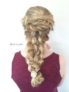 Love doing big braids