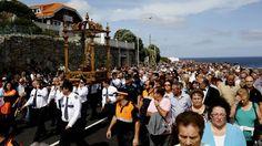 La Romaría da Virxe da Barca, en imágenes Miles de personas asistieron a la celebración de Muxía Xesús Búa 14 de septiembre de 2014