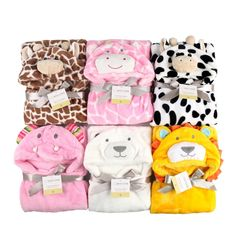 3D Baby Hooded Blankets - CUTE!! //Price: $19.45  //     #hashtag1