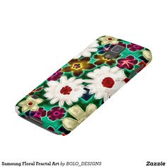 Samsung Floral Fractal Art Galaxy S5 Cover