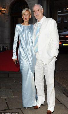 John Cleese and wife Jennifer Wade