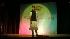 A student walks down the ramp on Teacher's Day. Teachers Day Celebration, Teachers' Day, Walks, Student, Celebrities, Life, Celebs, Celebrity, Famous People
