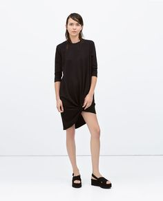 ZARA - COLLECTION SS15 - COMBINED TIE DRESS