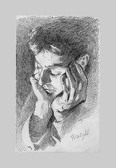 John Singer Sargent - Firelight