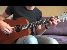 Fingerstyle Blues Guitar Lesson