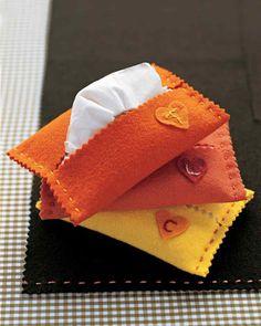 DIY  Tissue Holder  : DIY Hankie Holder