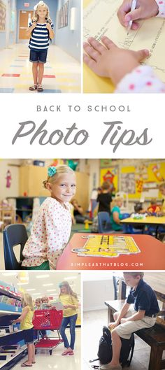 Easy to follow tips to help tell the story of your child's school year in photos.