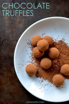 Discover a quick and easy recipe for how to make the best-ever chocolate truffles.
