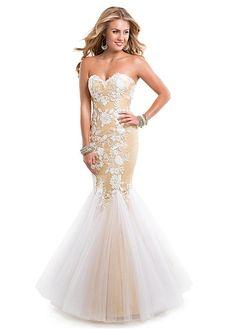 Charming Tulle Sweetheart Neckline Floor-length Mermaid Evening Dress