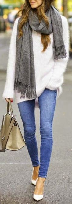 Skinny jeans are the perfect denim option in the fall and winter when rocking your favorite tall boots! They tuck easily into the stop, or look fabulous when cuffed at the bottom above your favorite bootie or heel! Easy, versatile and comfortable - it's a year-round staple every woman should own! How would you style this denim?