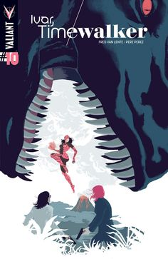 Ivar, Timewalker #10 Cover A by Raul Allen
