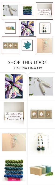 Gift set by keepsakedesignbycmm on Polyvore featuring Therapy, jewelry, accessories and decor