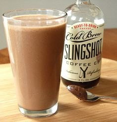 Coffee and Nutella Smoothie