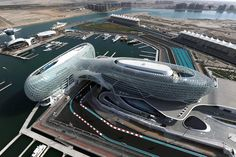 Yas Marina Circuit, Yas Island, Abu Dhabi, United Arab Emirates. The oil money built a pretty nice track to race on. It's a track that requires skill to learn.