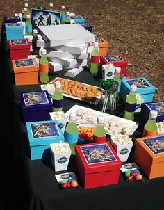 Teenage Mutant Ninja Turtles Party Table