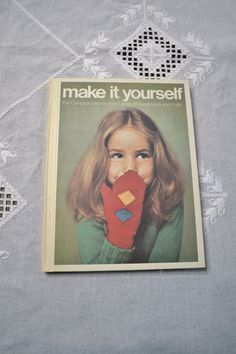 Make It Yourself Book Volume 2 Retro Needlework and Crafts DIY Instructions Patterns Designs PanchosPorch Vintage Shops, Vintage Items, Patterned Sheets, So Creative, Vintage Sewing Patterns, Needlework, Pattern Design, I Shop, Diy Crafts