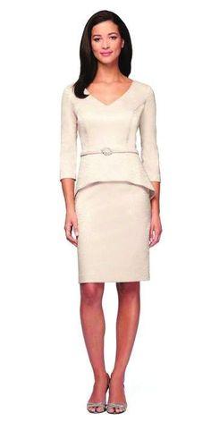 ALEX EVENINGS 181068 Short Dress