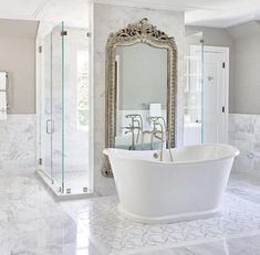 Bringing decorative tile to new heights, Nymeria channels mid-century glitz and glamour with a stark Bathroom Styling, Bathroom Interior Design, Interior Decorating, Bad Styling, Decorative Tile, White Bathroom, Minimal Bathroom, Bathroom Small, Bathroom Flooring