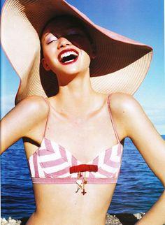 Gemma Ward by Troyt Coburn forVogue Australia