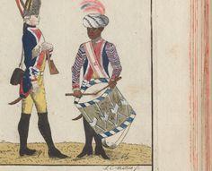 Leib Grenadier Regiment Drummer. Black Hessian Revolutionary War