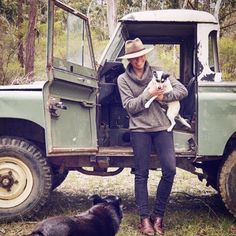 Land Rover 88 Series pickup. Family farm. Nice!