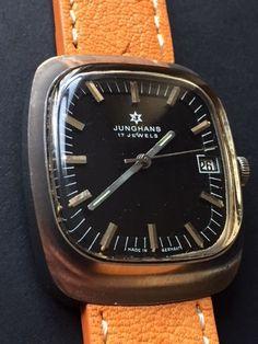 Junghans - Classic/Vintage - 623.21 - Men - 1950-1959 21 Men, Omega Watch, Watches, Classic, Accessories, Vintage, Derby, Wristwatches, Clocks