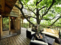Treehouses (& other off-the-beaten-path vacations)