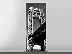 Tür #Tapete Georg-Washington-Bridge