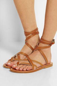 K. Jacques St Tropez - Zenobie Leather Sandals