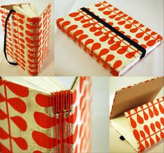 Made with vintage maps, waxed linen thread, 80 pound paper, and card stock. Find more books at:
