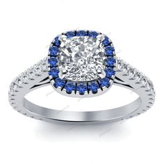 New Women's Fashion 925 Sterling  Silver D/VVS1 Diamond Engagement Ring Jewelry #Giftjewelry22 #SolitairewithAccents