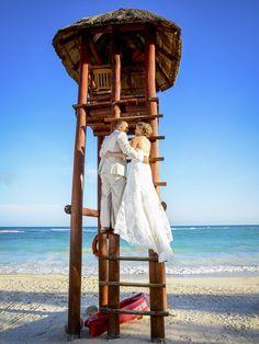 A new beginning! #RivieraMaya #WeddingDestination #BarcelóMayaWeddings - Photo by Ocean Photo Studio