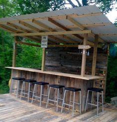 24 bars extérieurs qui auraient un succès fou dans votre jardin! - Décorations - Trucs et Bricolages