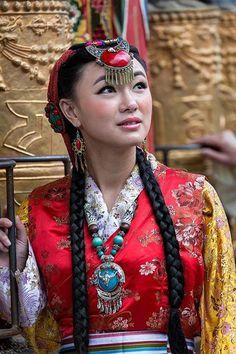 sposa in Tibet