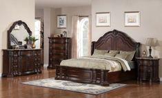 Samuel Lawrence Edington King Bed/Dresser/Mirror/Nightstand