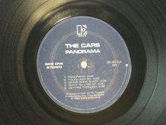 The Cars  RePurposed Album Bowl by ROCKANDROLLCOASTERS on Etsy, $15.00