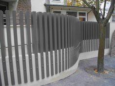 Clôture de jardin / à barreaudage / en métal / modulaire ROSEAU ...