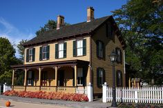 Greenfield Village The Sarah Jordan Boarding House by claybuster1(Mike & Doris)