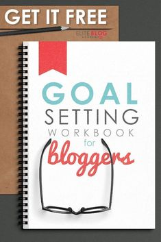 FREE Goal Setting Workbook for Bloggers! Our life-changing workbook will walk you through 5 simple time-management steps to help you create a straightforward action plan to achieve your biggest goals and reach your dreams.