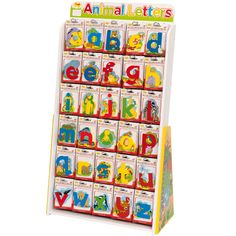 Beautifully finished, these stunning wooden Magnetic Wildlife Letters are a great learning tool or decoration. Each letter has a small magnet embedded in the back so that it can be used as a fridge magnet. Or with the use of sticky fixers it could be attached to a wall, door or toy box. Great for adding that personal touch to any playroom.