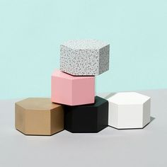 hex paperweights